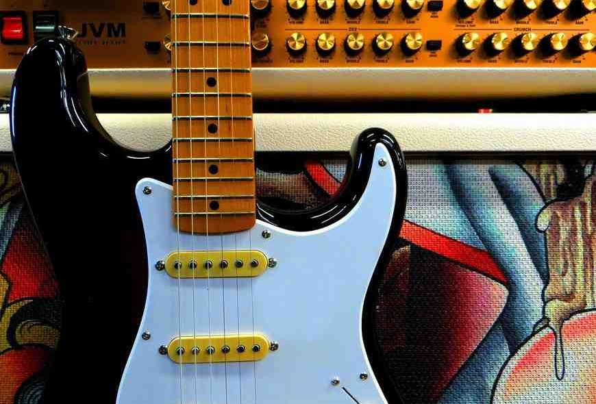 How to Relic a Strat body