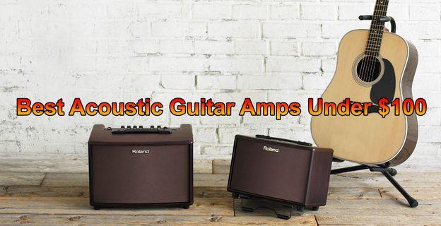 Best Acoustic Guitar Amps under 100
