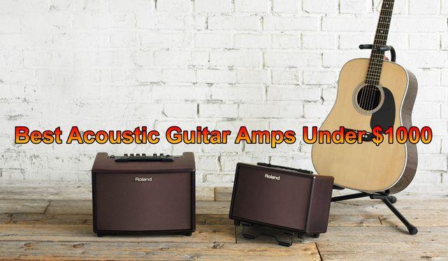 Best Acoustic Guitar Amps under 1000