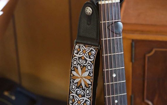 How to Put a Guitar Strap on an Acoustic Guitar